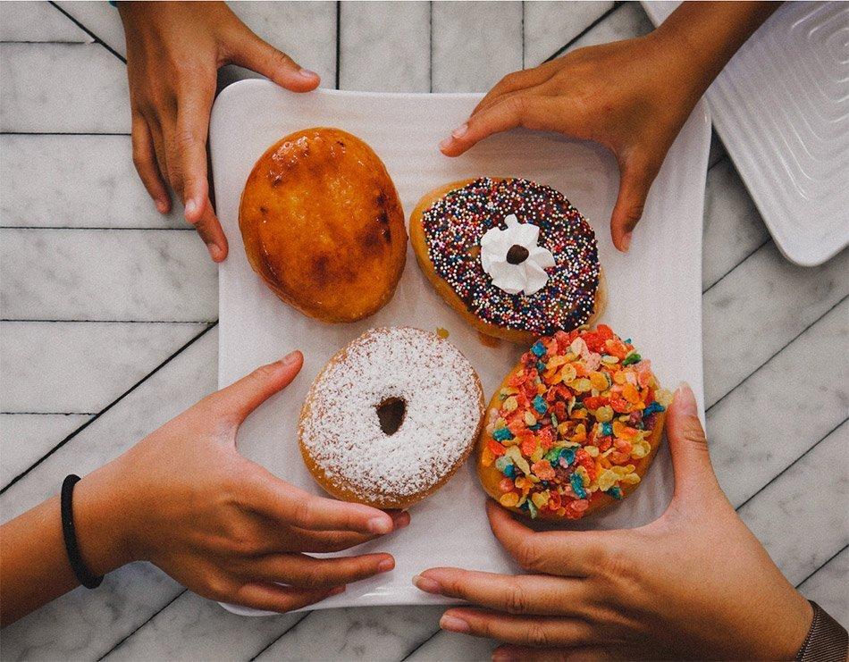 Teals - Doughnuts