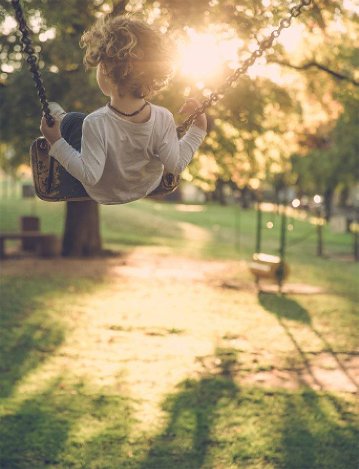 Teals Somerset - Boy on Swing