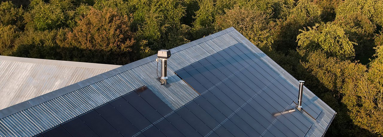 Teals Somerset - Sustainability Solar Roof